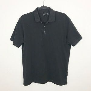 Hugo Boss Black Polo Pima Cotton Shirt Sz Large